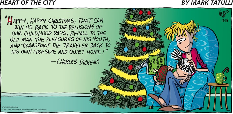 Heart of the City for Dec 24, 2017 Comic Strip