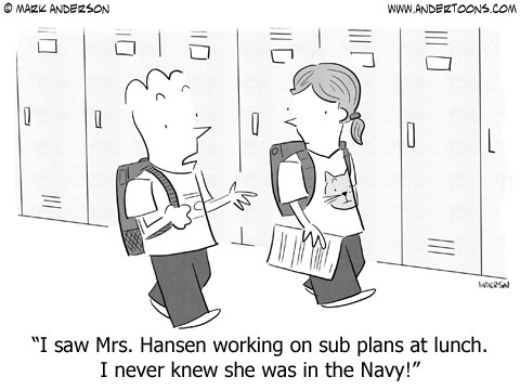 Andertoons Comic Strip for January 25, 2016