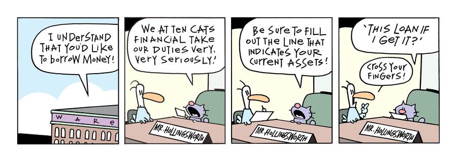 Ten Cats Comic Strip for September 15, 2021