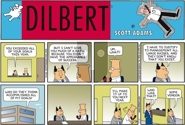 Dilbert - Sunday September 3, 2006 Comic Strip