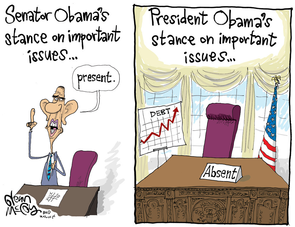 Glenn McCoy for Nov 21, 2011 Comic Strip