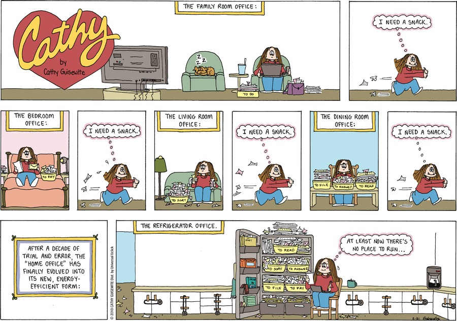 Cathy Classics by Cathy Guisewite on Sun, 21 Feb 2021
