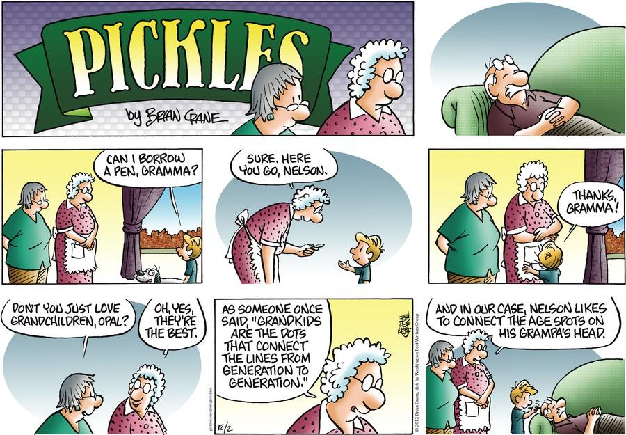 Pickles for Dec 2, 2012 Comic Strip
