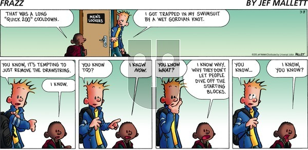 Frazz on Sunday March 8, 2015 Comic Strip