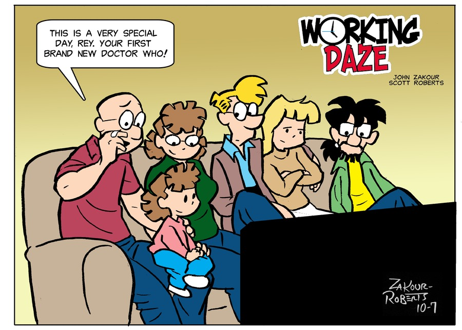 Working Daze Comic Strip for October 07, 2018
