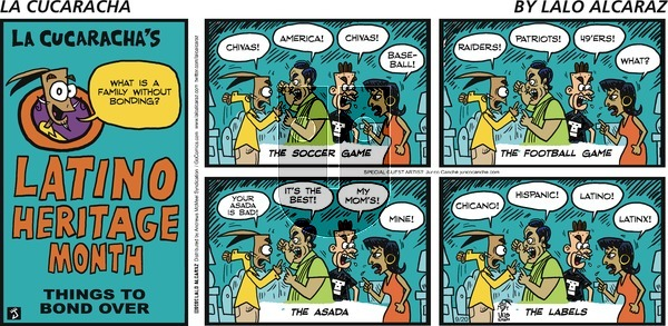 La Cucaracha on Sunday September 20, 2020 Comic Strip