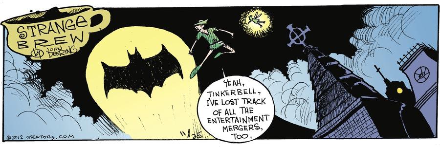 Strange Brew for Nov 25, 2012 Comic Strip