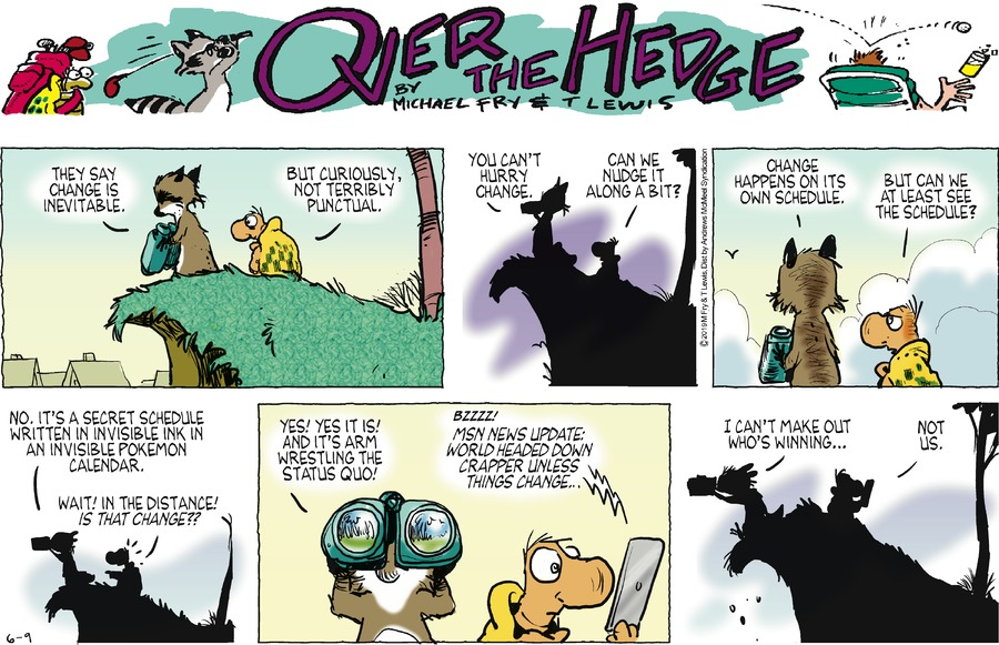 Over the Hedge Comic Strip for June 09, 2019