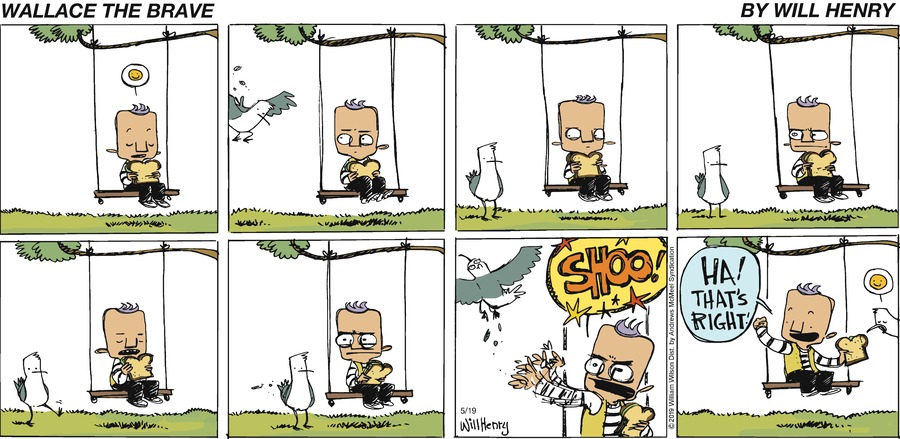 Wallace the Brave Comic Strip for May 19, 2019