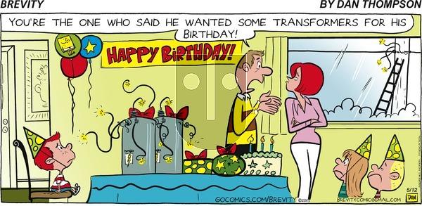 Brevity on Sunday May 12, 2019 Comic Strip