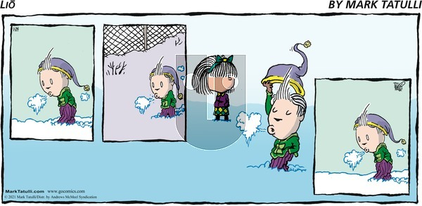 Lio on Sunday January 24, 2021 Comic Strip