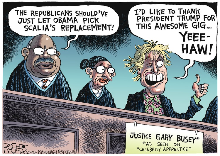 Rob Rogers Comic Strip for March 20, 2016