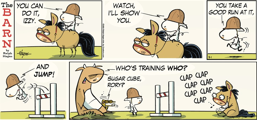 The Barn Comic Strip for August 01, 2021