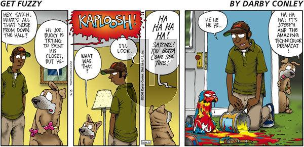 Get Fuzzy on Sunday September 15, 2002 Comic Strip