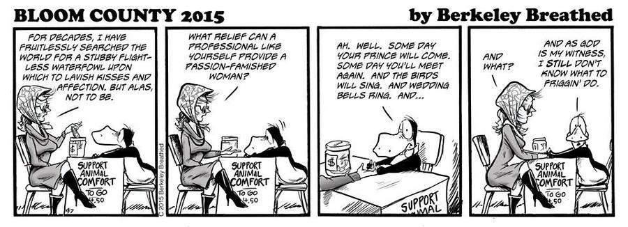 Bloom County 2018 for Nov 25, 2015 Comic Strip