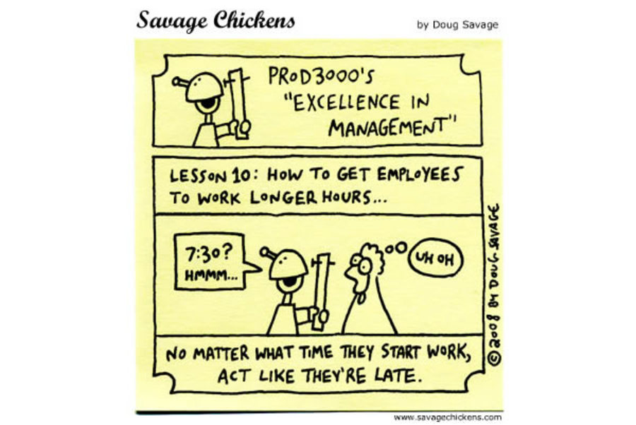"Prod3000's ""Excellence in Management"" 