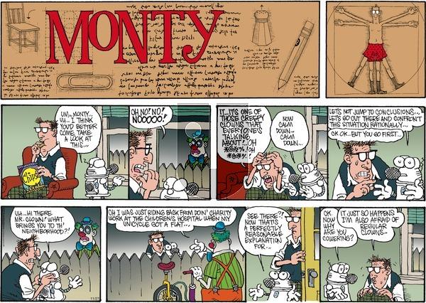Monty on Sunday November 27, 2016 Comic Strip