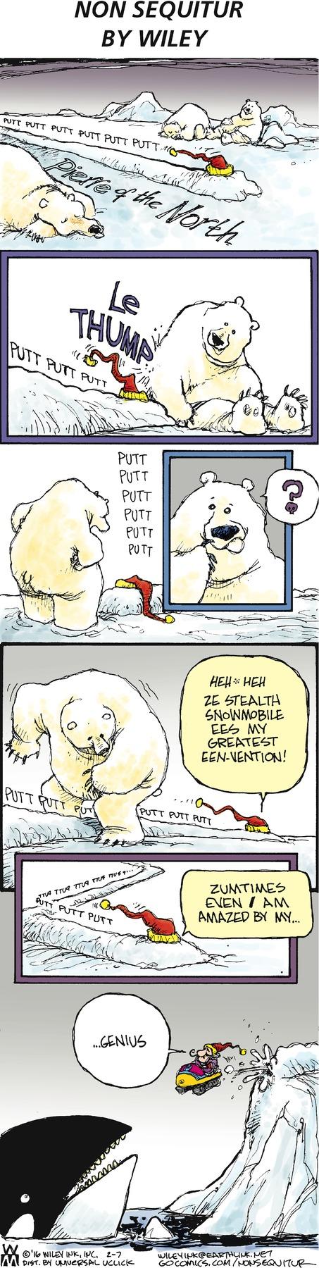 Non Sequitur Comic Strip for February 07, 2016