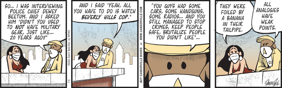 Candorville Comic Strip for July 03, 2020