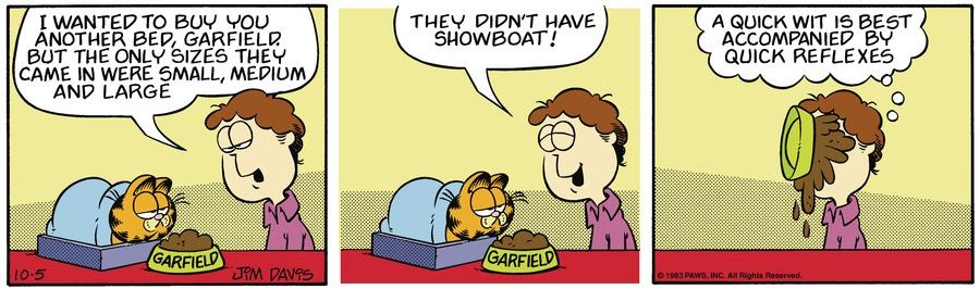 Garfield Classics by Jim Davis on Sun, 10 Oct 2021