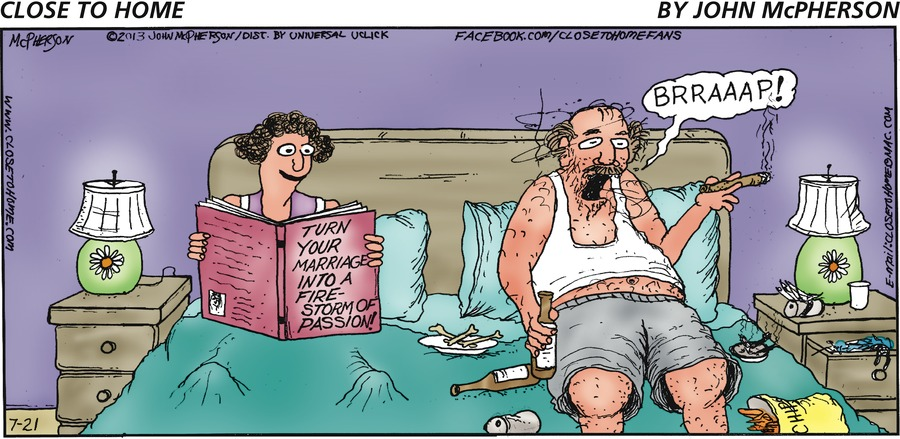 Close to Home for Jul 21, 2013 Comic Strip