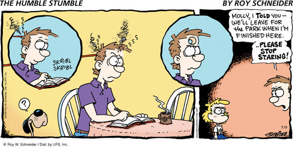 The Humble Stumble Comic Strip for December 09, 2012