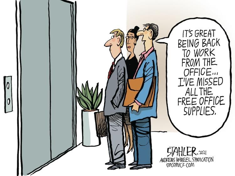 Jeff Stahler Comic Strip for June 27, 2021