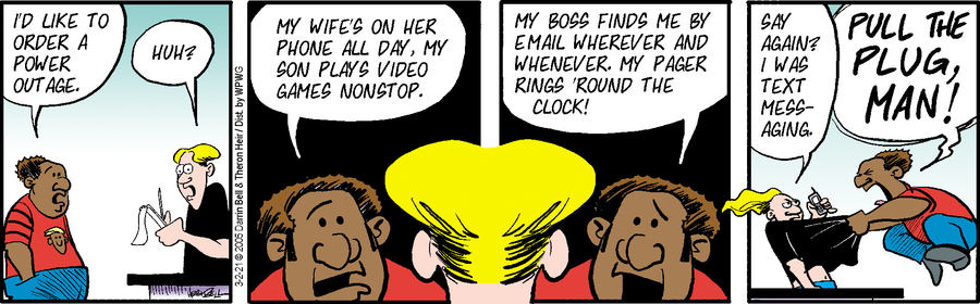 Rudy Park Comic Strip for March 02, 2021
