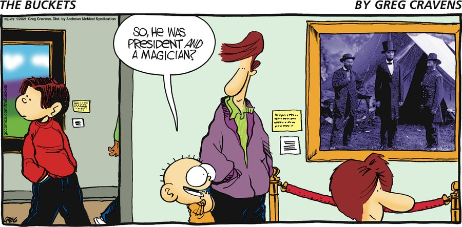 The Buckets Comic Strip for March 07, 2021