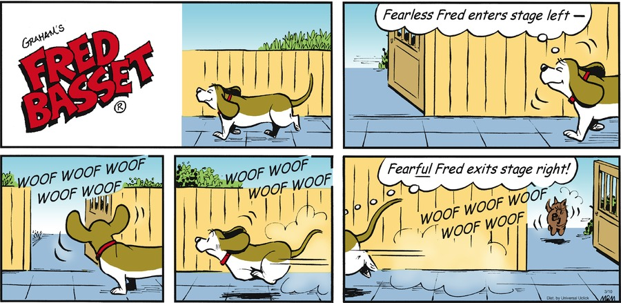 Fred Basset Comic Strip for March 10, 2013