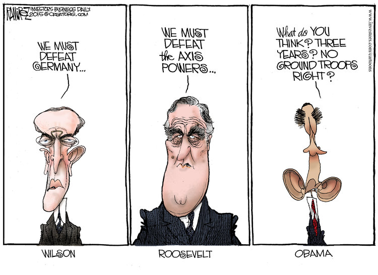Michael Ramirez for Feb 13, 2015 Comic Strip