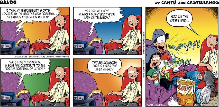 Baldo for Jun 25, 2006 Comic Strip
