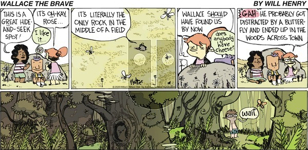 Wallace the Brave on Sunday August 16, 2020 Comic Strip