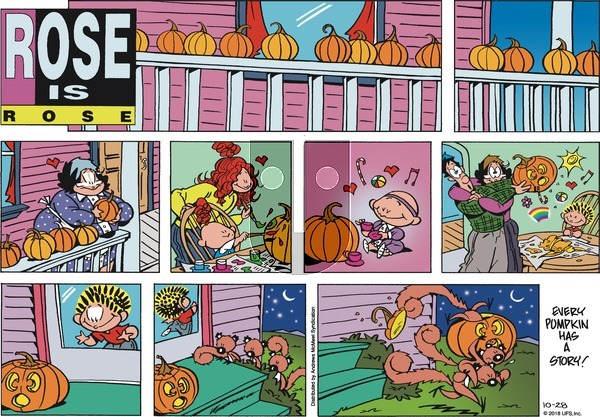 Rose is Rose - Sunday October 28, 2018 Comic Strip