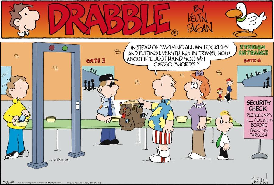 Drabble Comic Strip for July 21, 2019