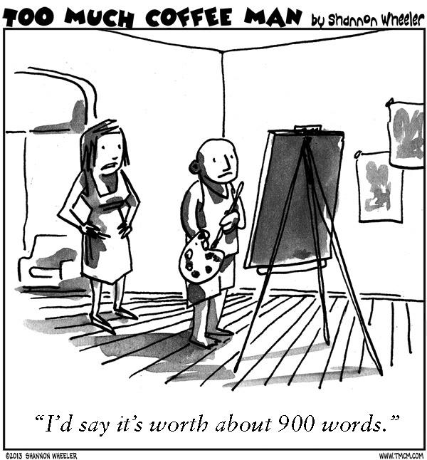 Too Much Coffee Man for Jun 19, 2013 Comic Strip
