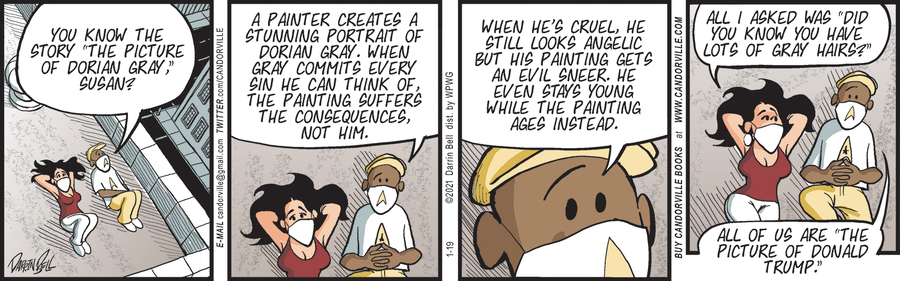 Candorville Comic Strip for January 19, 2021