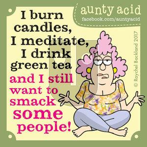 Aunty Acid on Tuesday March 21, 2017 Comic Strip