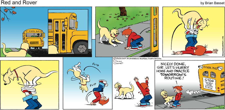 Red and Rover Comic Strip for October 18, 2020