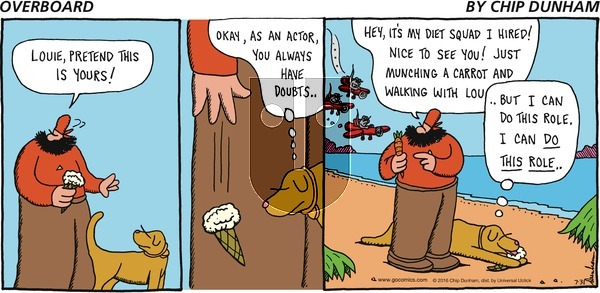 Overboard on Sunday July 31, 2016 Comic Strip