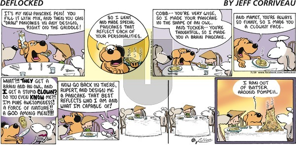DeFlocked on Sunday July 29, 2012 Comic Strip