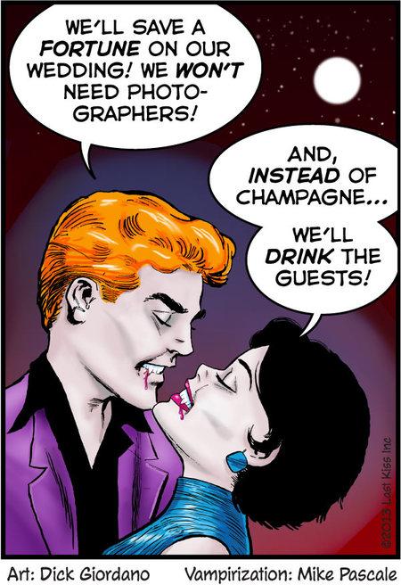 Last Kiss for Oct 25, 2013 Comic Strip