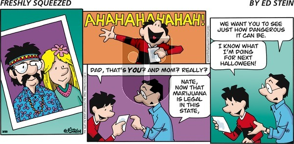 Freshly Squeezed - Sunday April 11, 2021 Comic Strip