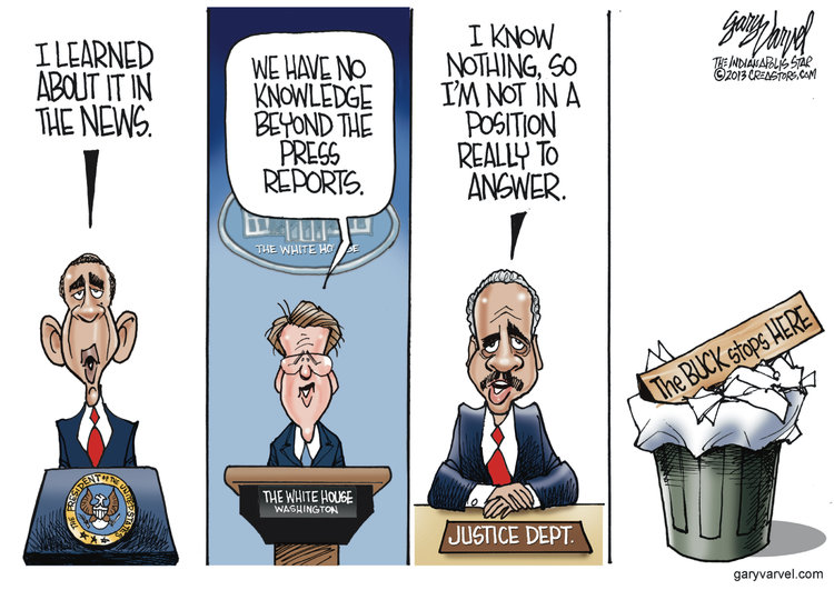 Gary Varvel Comic Strip for May 17, 2013