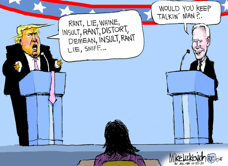Mike Luckovich Comic Strip for October 23, 2020