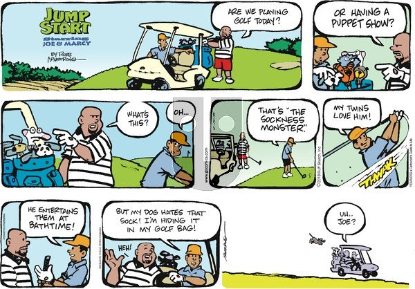 JumpStart on Sunday April 15, 2018 Comic Strip