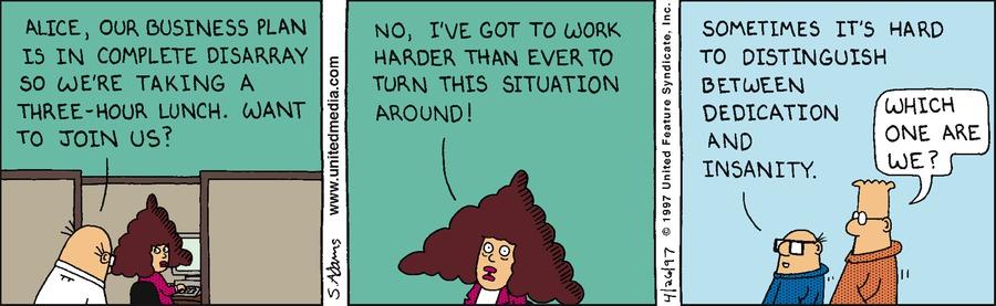 Dilbert Classics Comic Strip for March 28, 2021
