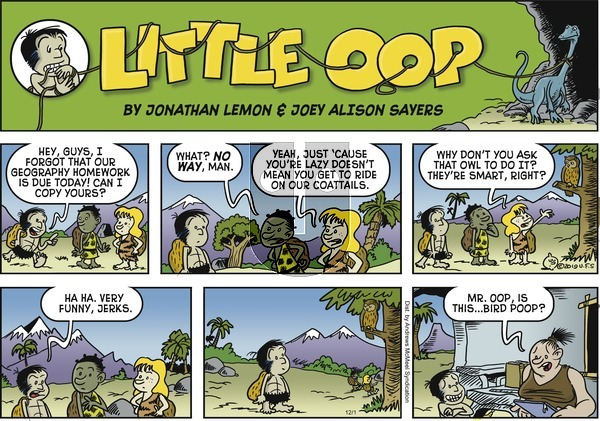 Alley Oop on Sunday December 1, 2019 Comic Strip