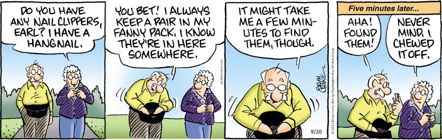 Pickles Comic Strip for September 20, 2021