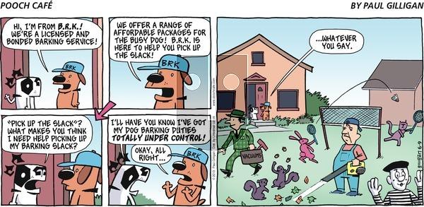 Pooch Cafe - Sunday June 9, 2013 Comic Strip
